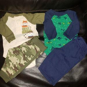 ⭐4/25⭐Garanimals Infant Bundle Of 2 Outfits